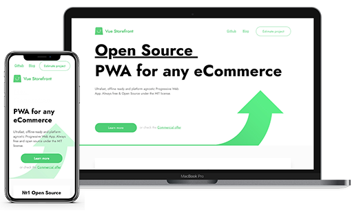 PWA VUE STOREFRONT - Products - Macopedia